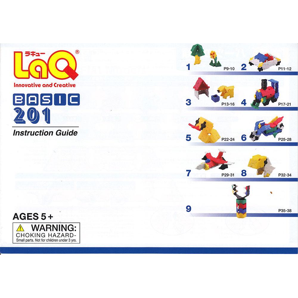 Stavebnica LaQ Basic 201