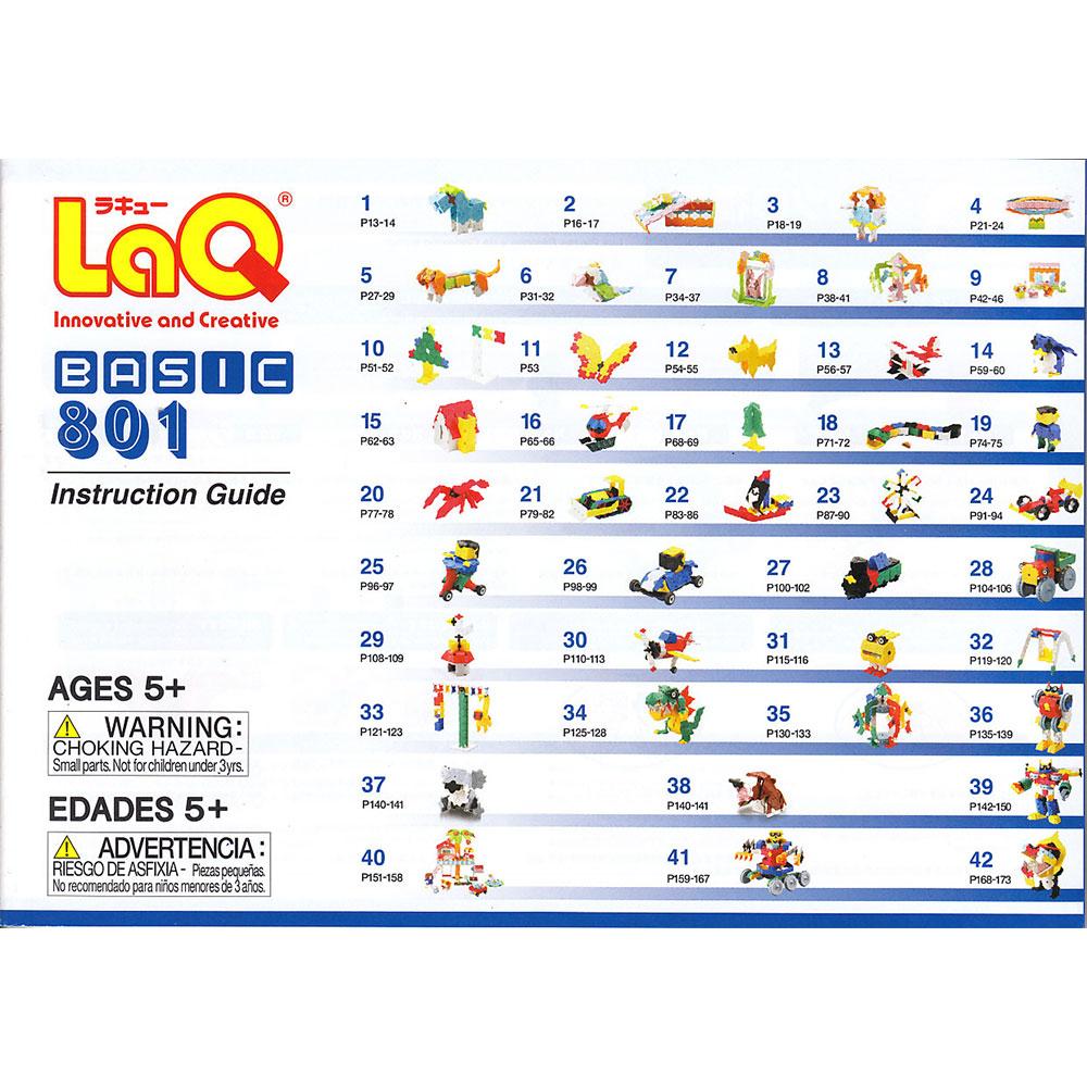 Stavebnica LaQ Basic 801