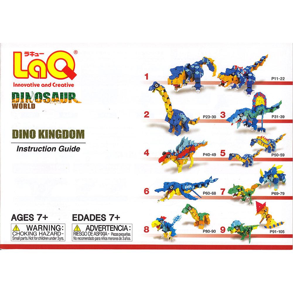 Stavebnice LaQ DW Dino Kingdom