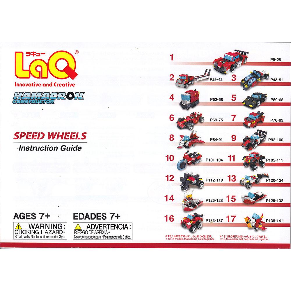 Stavebnice LaQ HC Rýchle kolesá