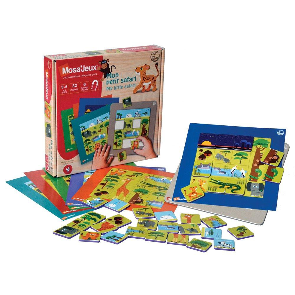 magnetická hračka iOTOBO moja malá Safari