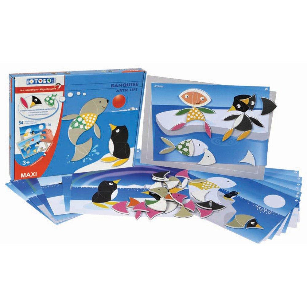 magnetická hračka iOTOBO Život za polárnym kruhom 3+