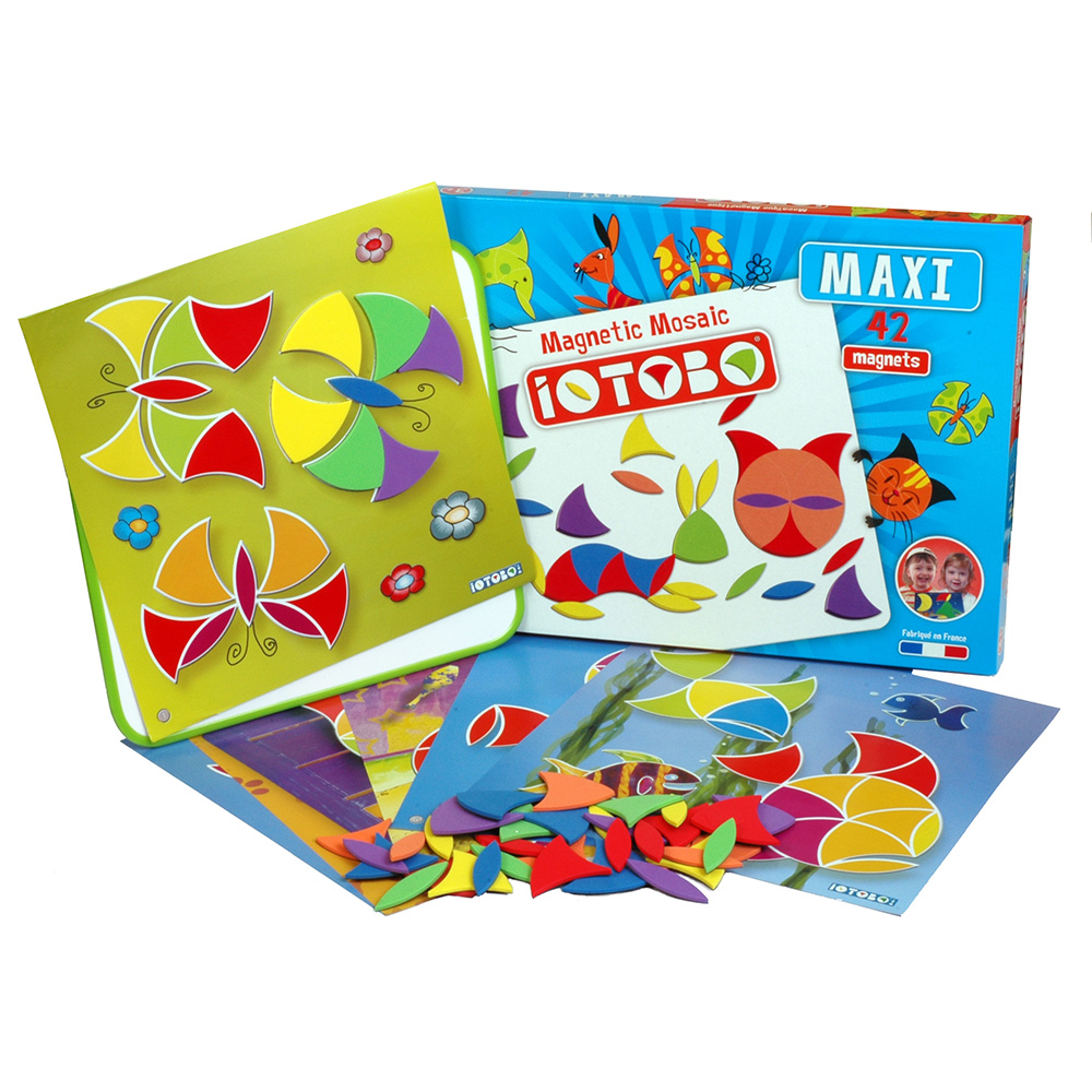 magnetická hračka iOTOBO Maxi 3+