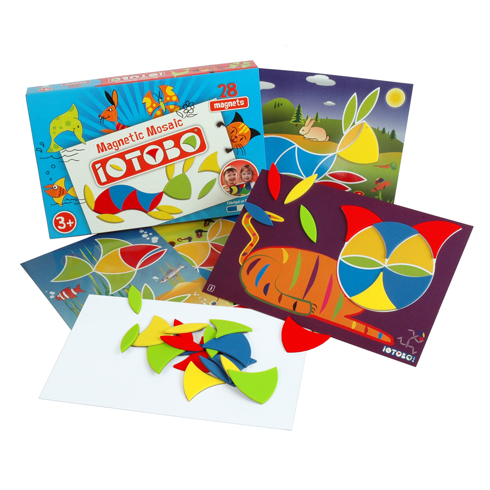 magnetická hračka iOTOBO Basic 3+