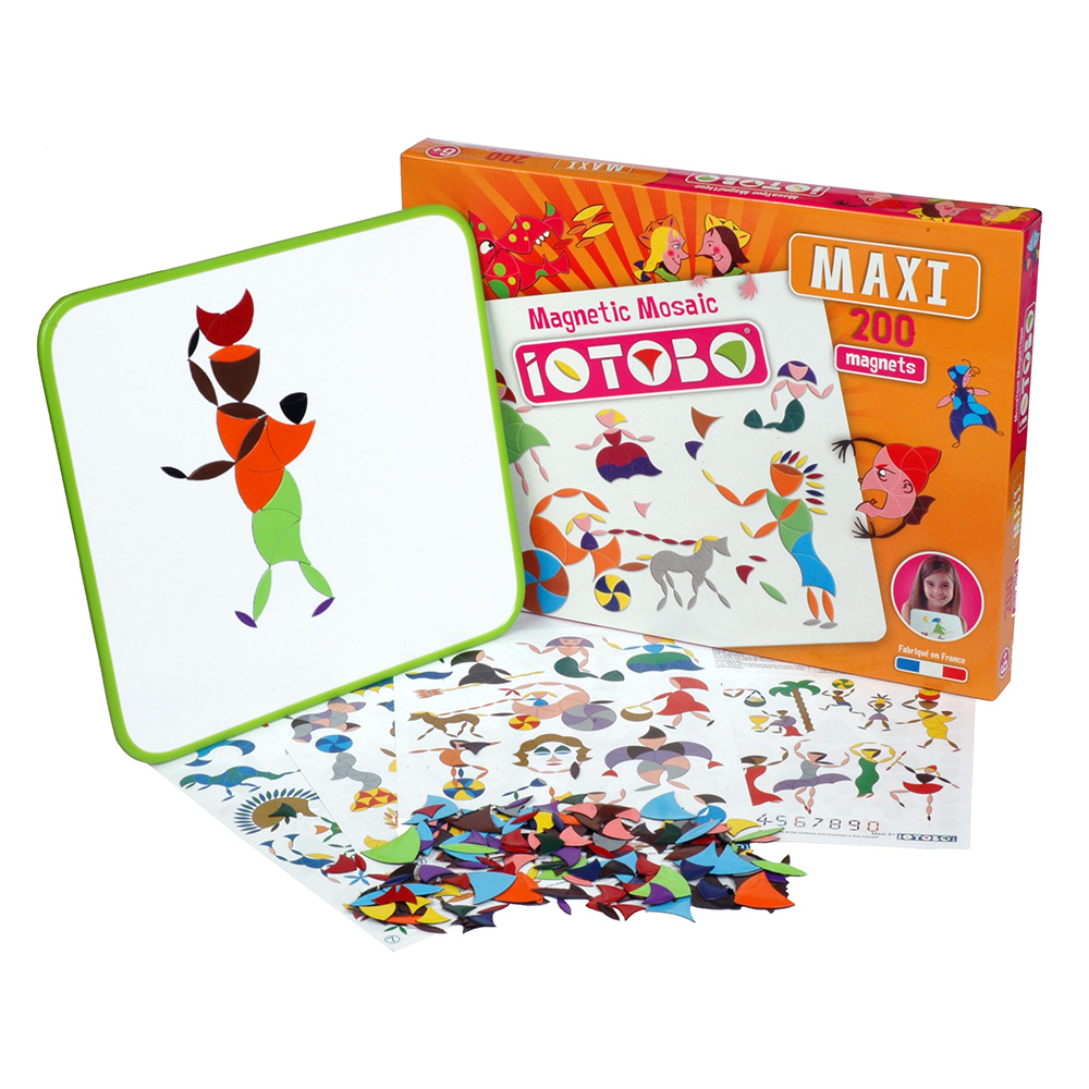 magnetická hračka iOTOBO Maxi 6+