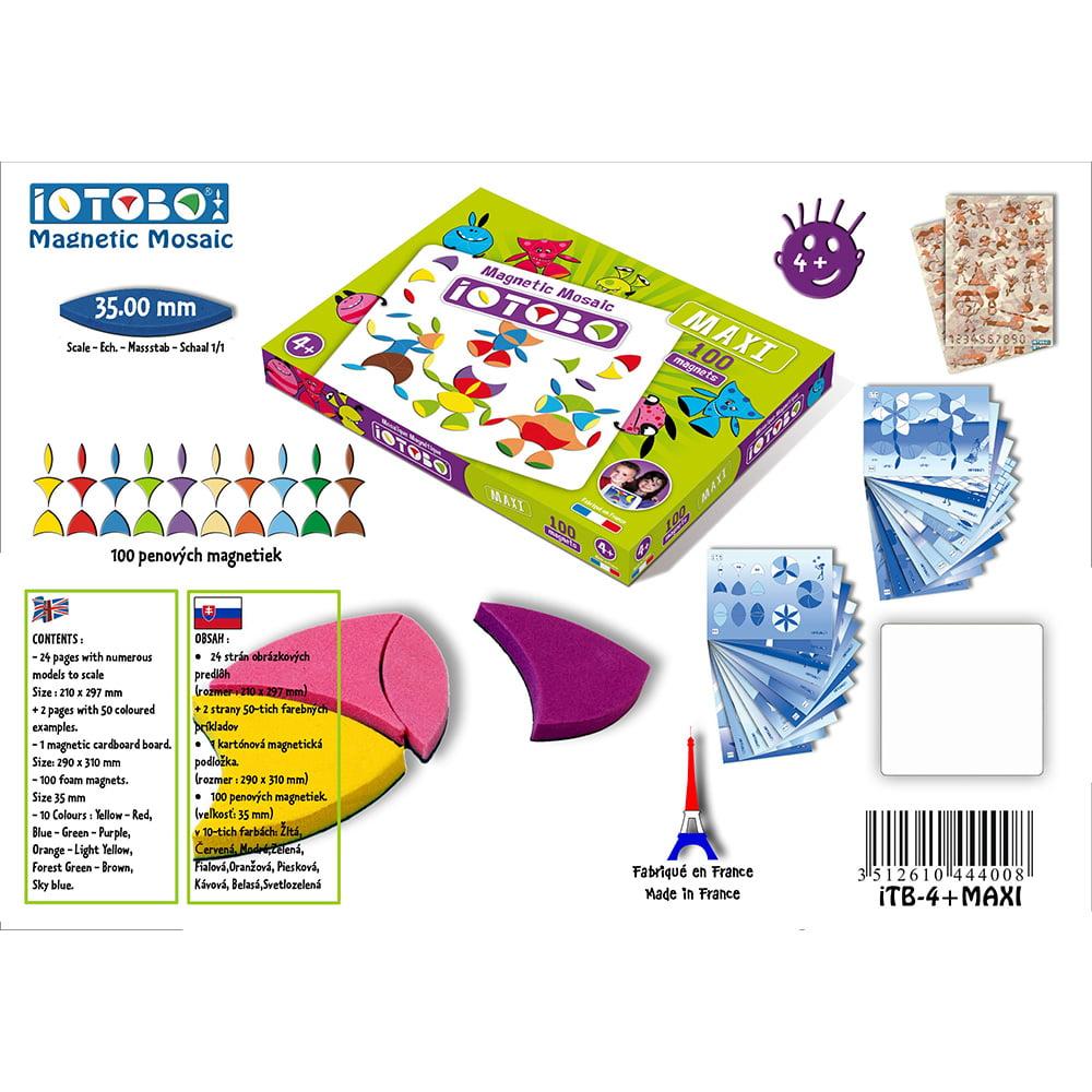 magnetická hračka iOTOBO Maxi 4+